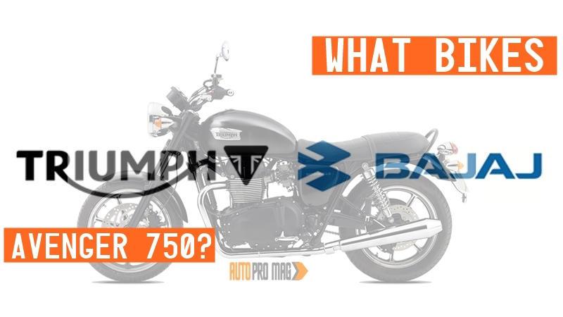 Triumph Bajaj motorcycles