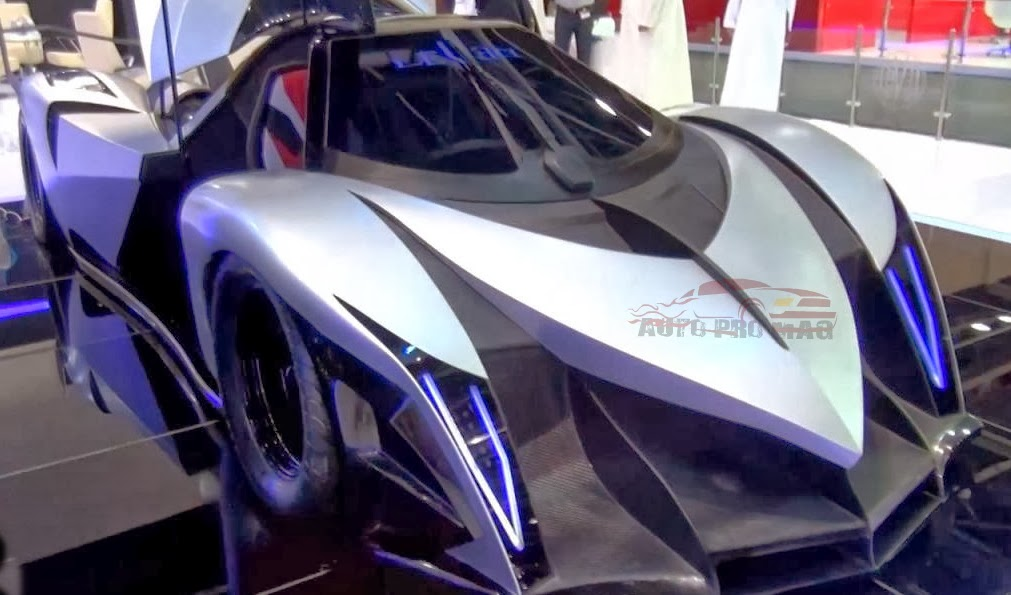 A 5000 Bhp Car The Devel Sixteen Autopromag