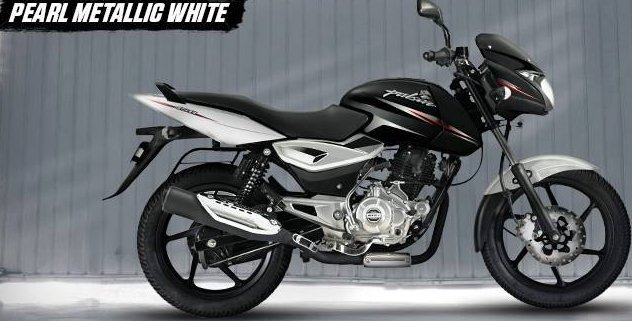 new white black pulsar 150