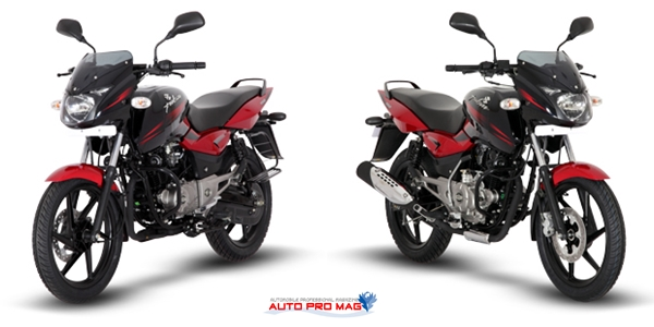 new pulsar 150 2014 red black