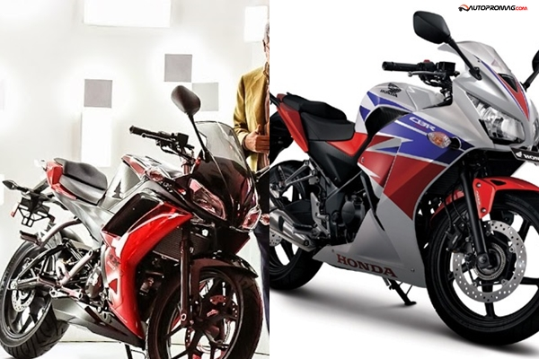 hero hx250r vs honda - photo #6
