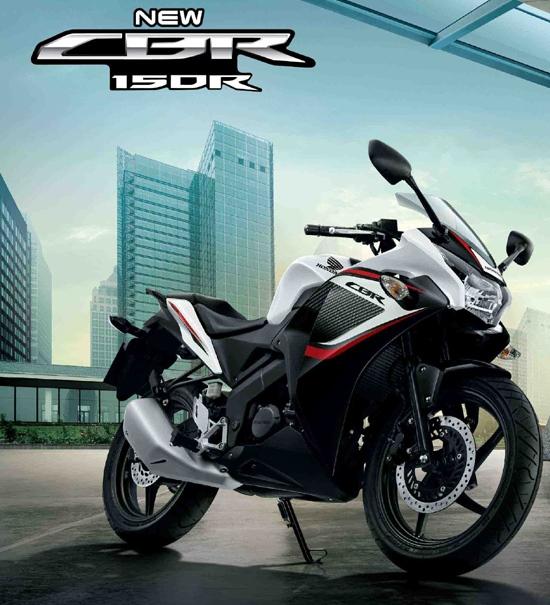 cbr 150r white