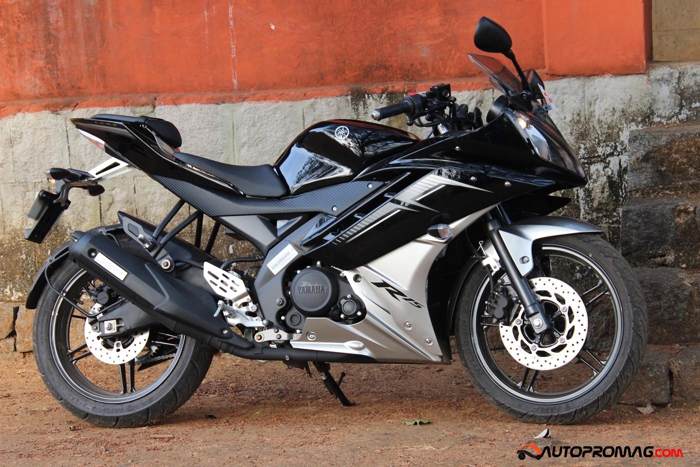 yamaha R15 2015 black