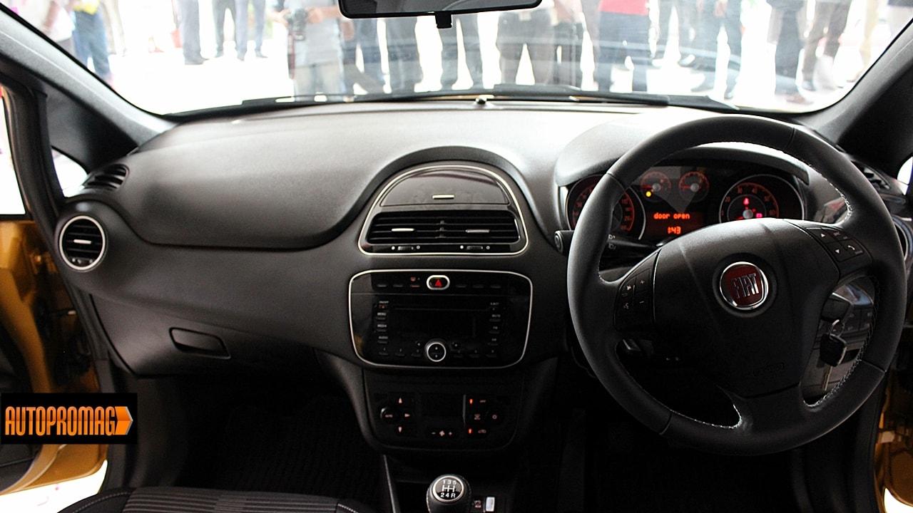 Fiat punto Evo interior