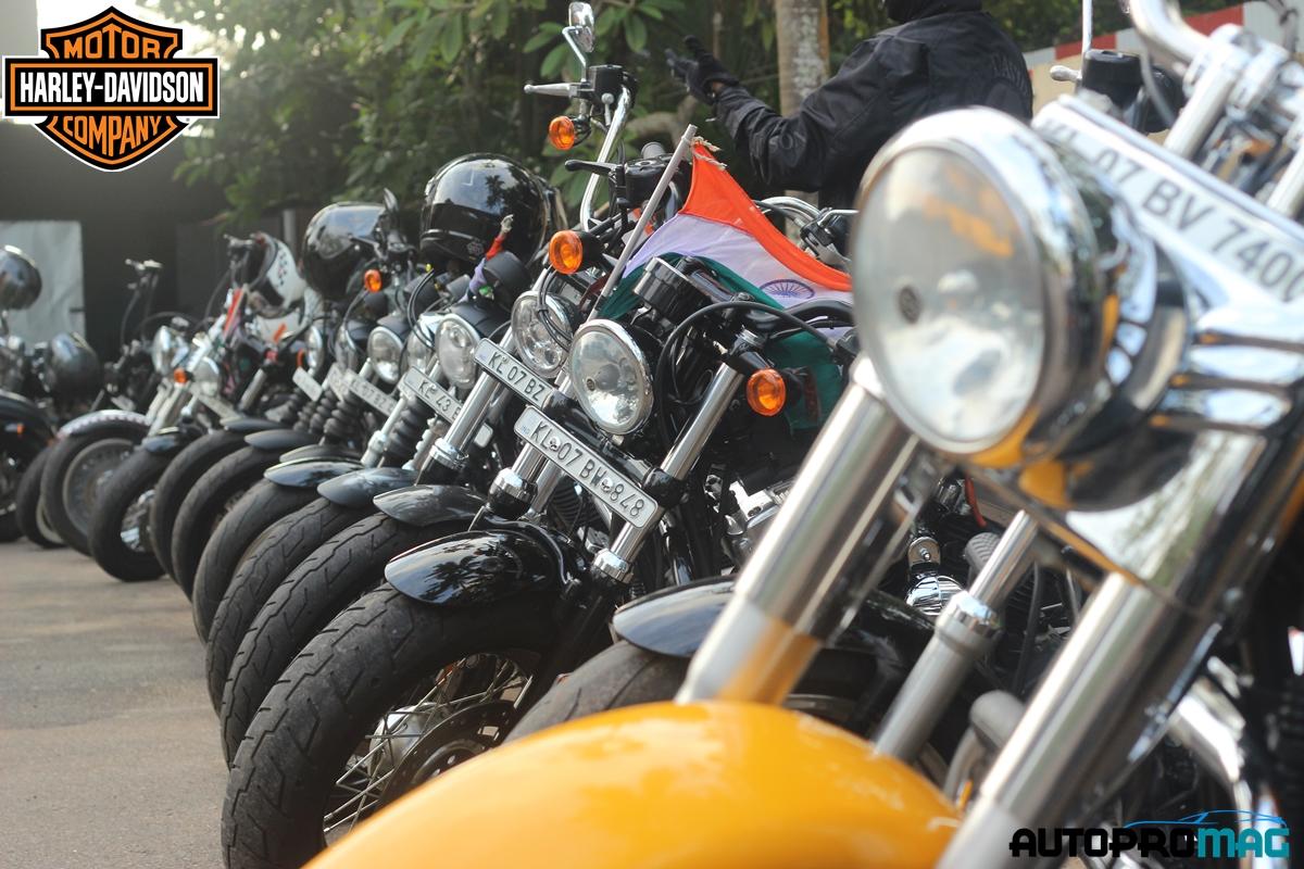Harley davidson bikes kerala