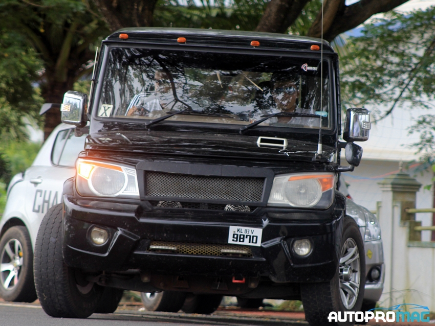 scorpio modified