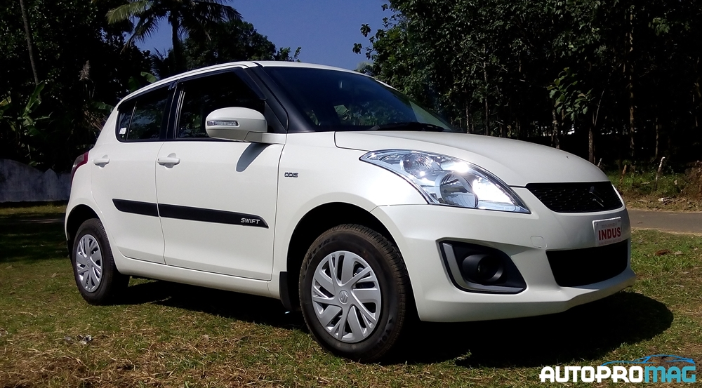 front side 2015 maruti swift