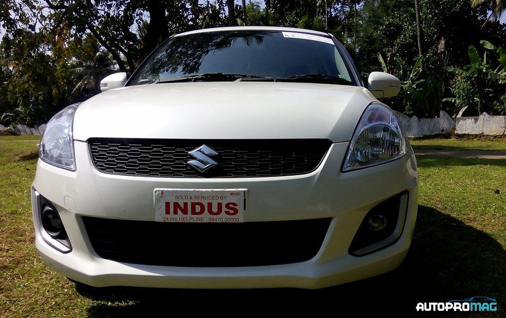 front maruti swift