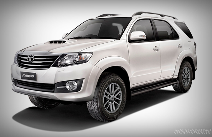 2015 Toyota Innova Fortuner 4x4 At Fortuner 2 5l