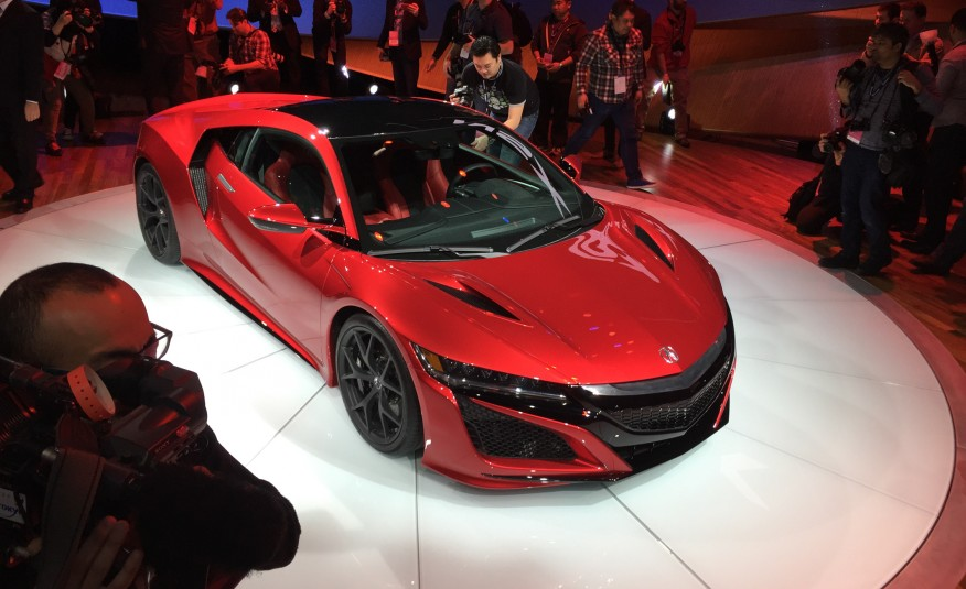 2016 honda nsx at detroit - acura