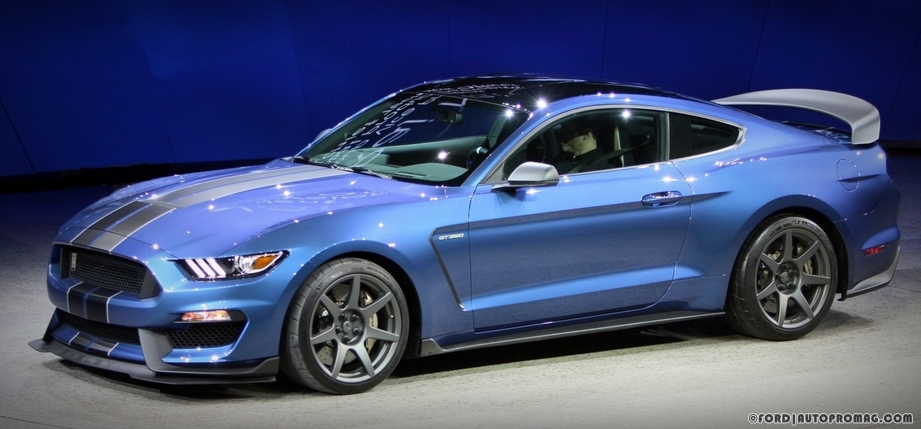Ford Shelby Mustang GT350R at detroit