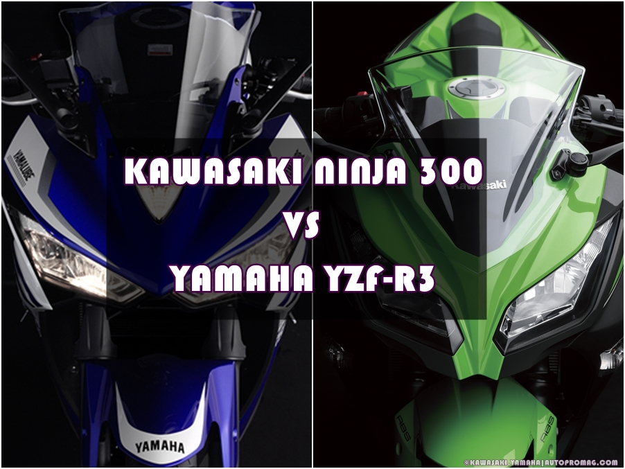 YAMAHA R3 vs KAWASAKI NINJA 300 comparison