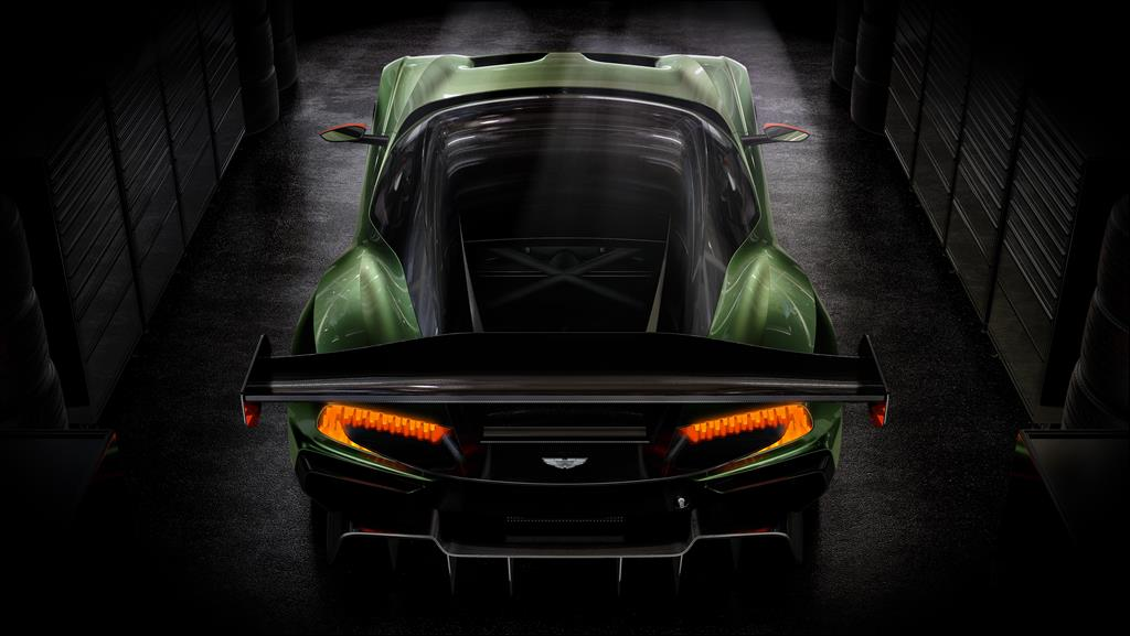 Aston Martin Vulcan spoiler rear wings