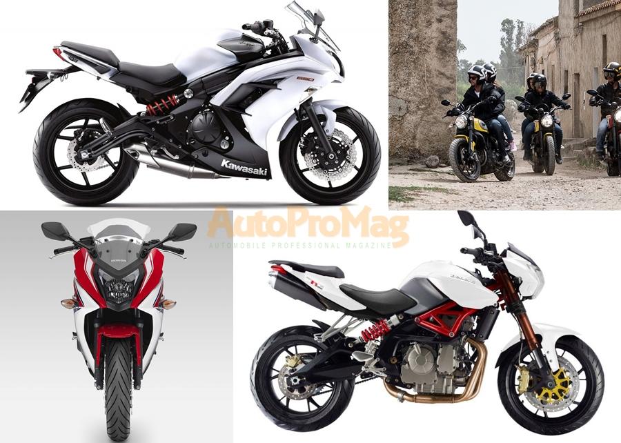 Ducati Scrambler vs Benelli TNT 600i vs Kawasaki Ninja 650R vs Honda CBR650F