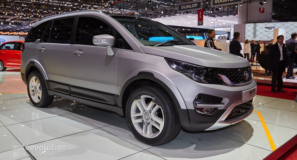new tata hexa at geneva