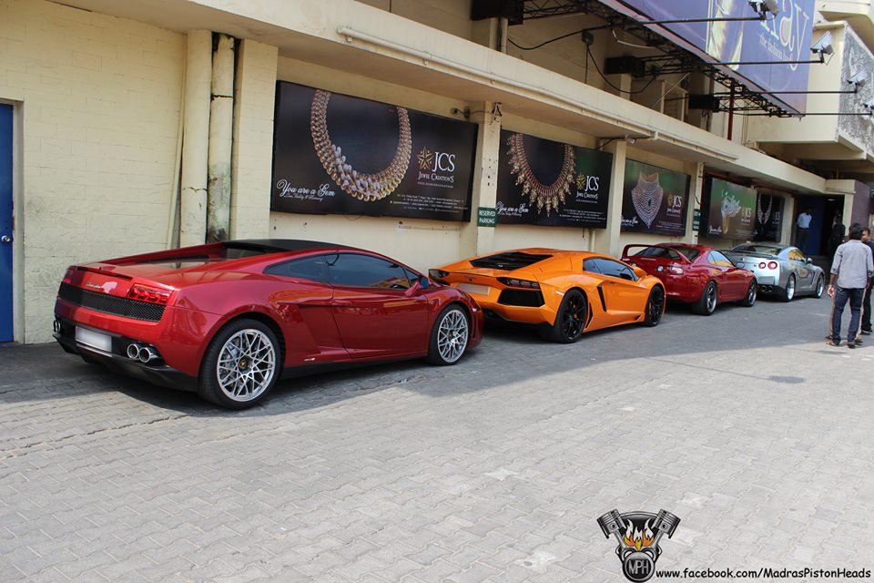 supercars sathyam theaters chennai