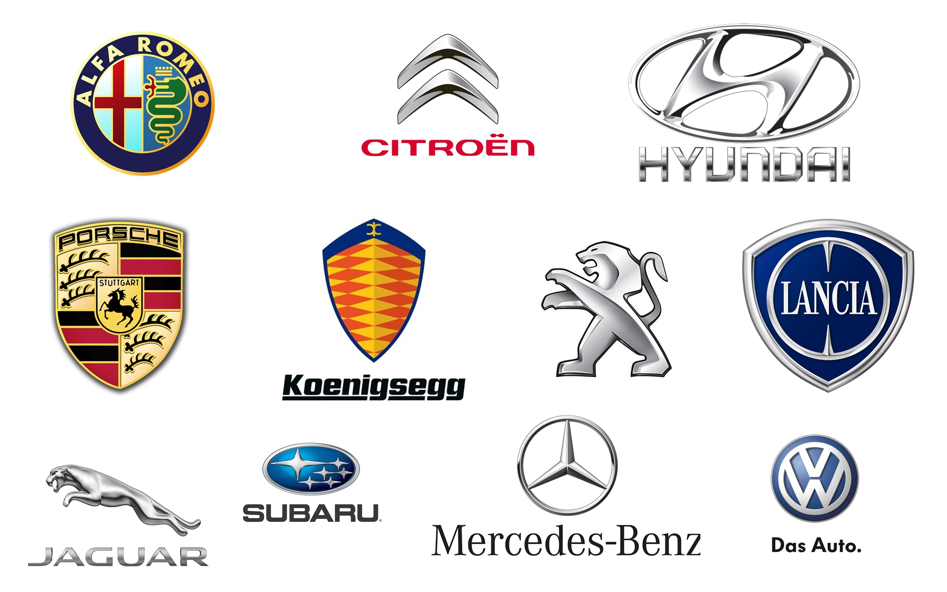 car brand logos transparent