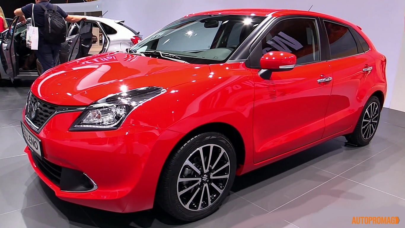 maruti Baleno red side