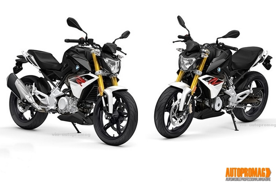 BMW TVS G310R upcoming