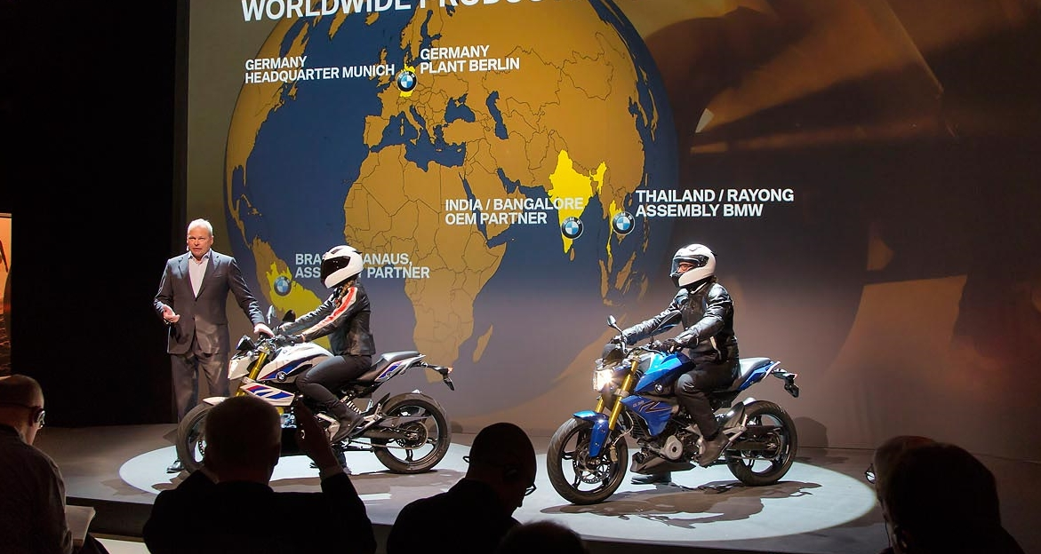 BMW g310r launch