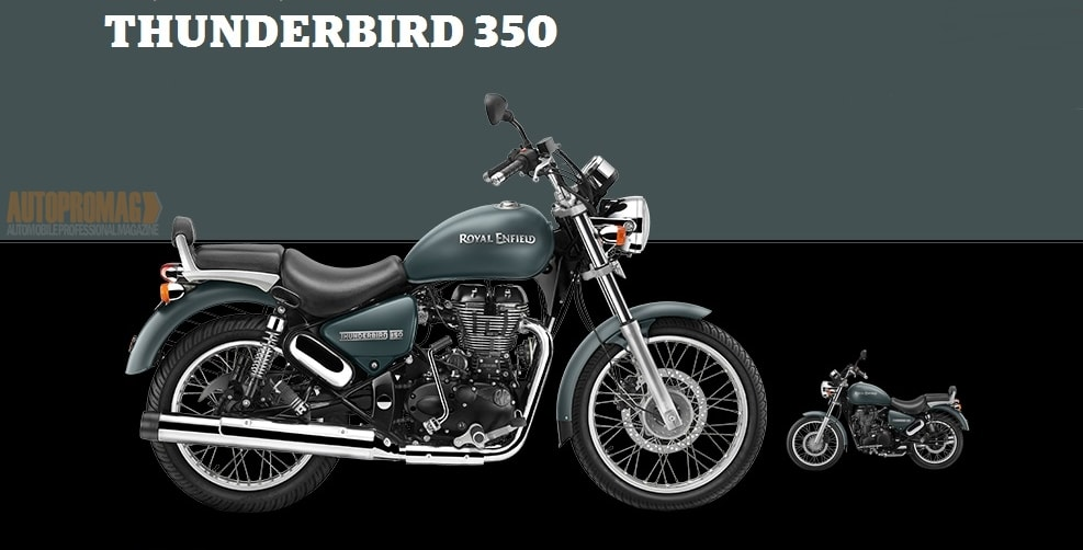 Royal Enfield Thunderbird asphalt colour