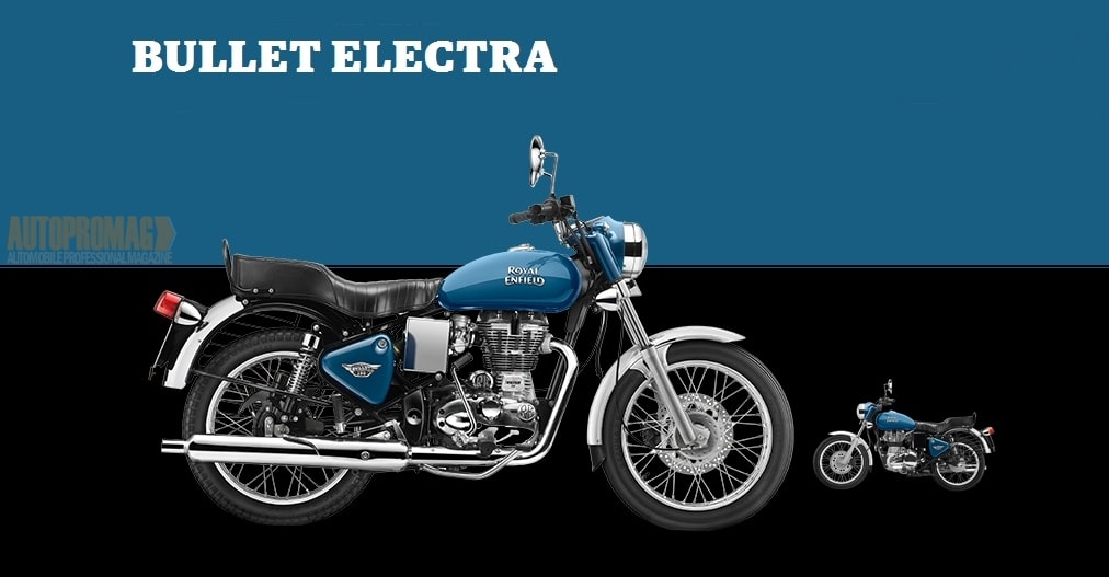 Royal Enfield bullet electra blue