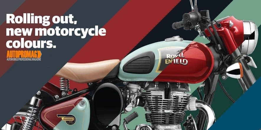 Royal Enfield new colours