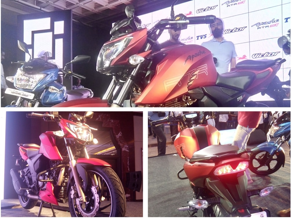 TVS Apache RTR 200 4V launch