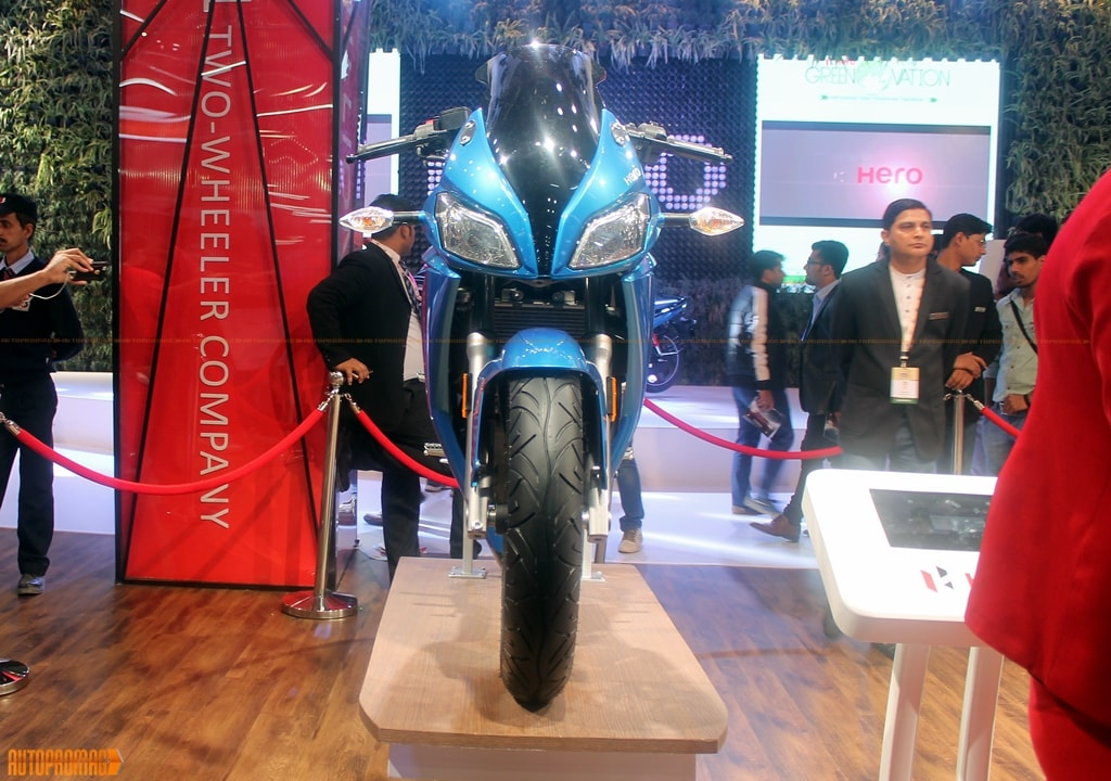 Hero HX250 front blue