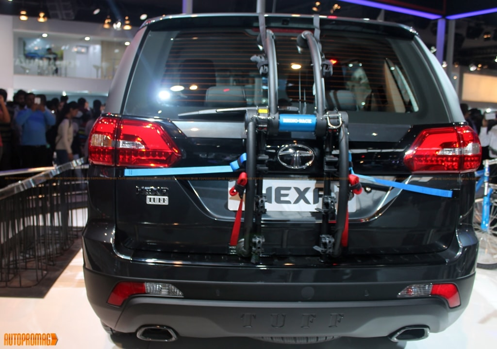 Tata Hexa rear