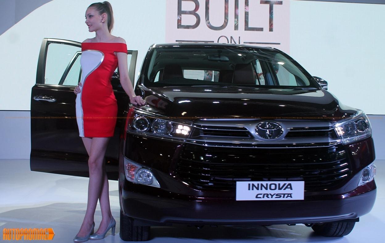 Toyota Innova Crysta auto expo 2016