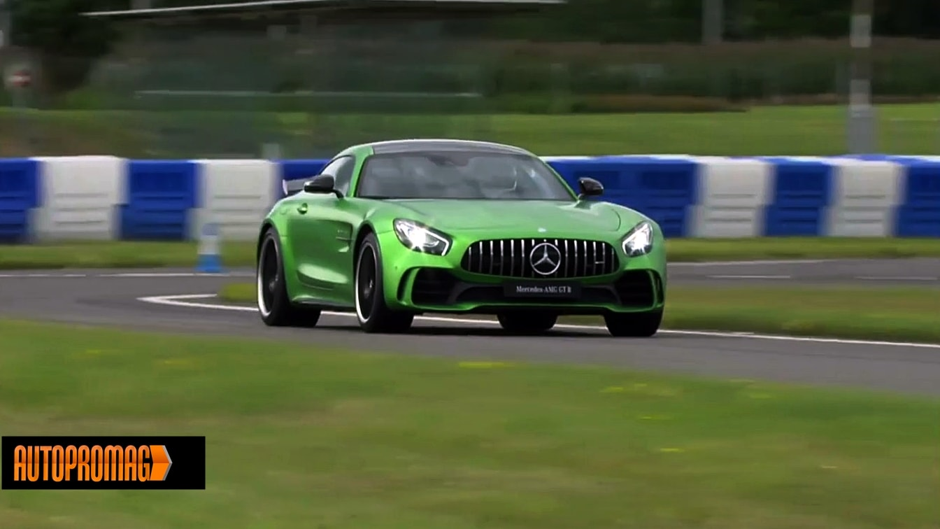 Mercedes AMG GT R test ride