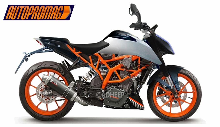 the 2017 ktm duke 390 is a baby superduke price specs autopromag. Black Bedroom Furniture Sets. Home Design Ideas