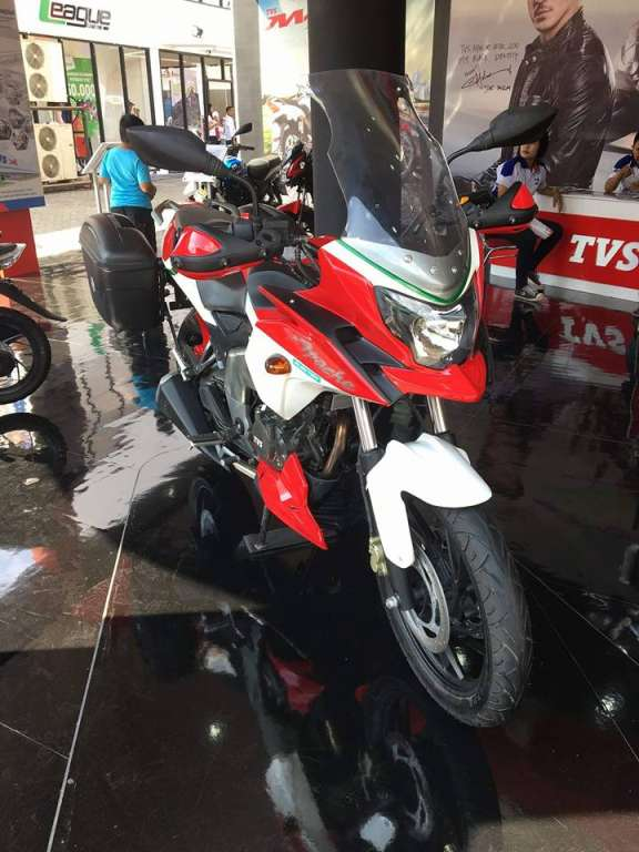 TVS Apache 200 modification adeventure
