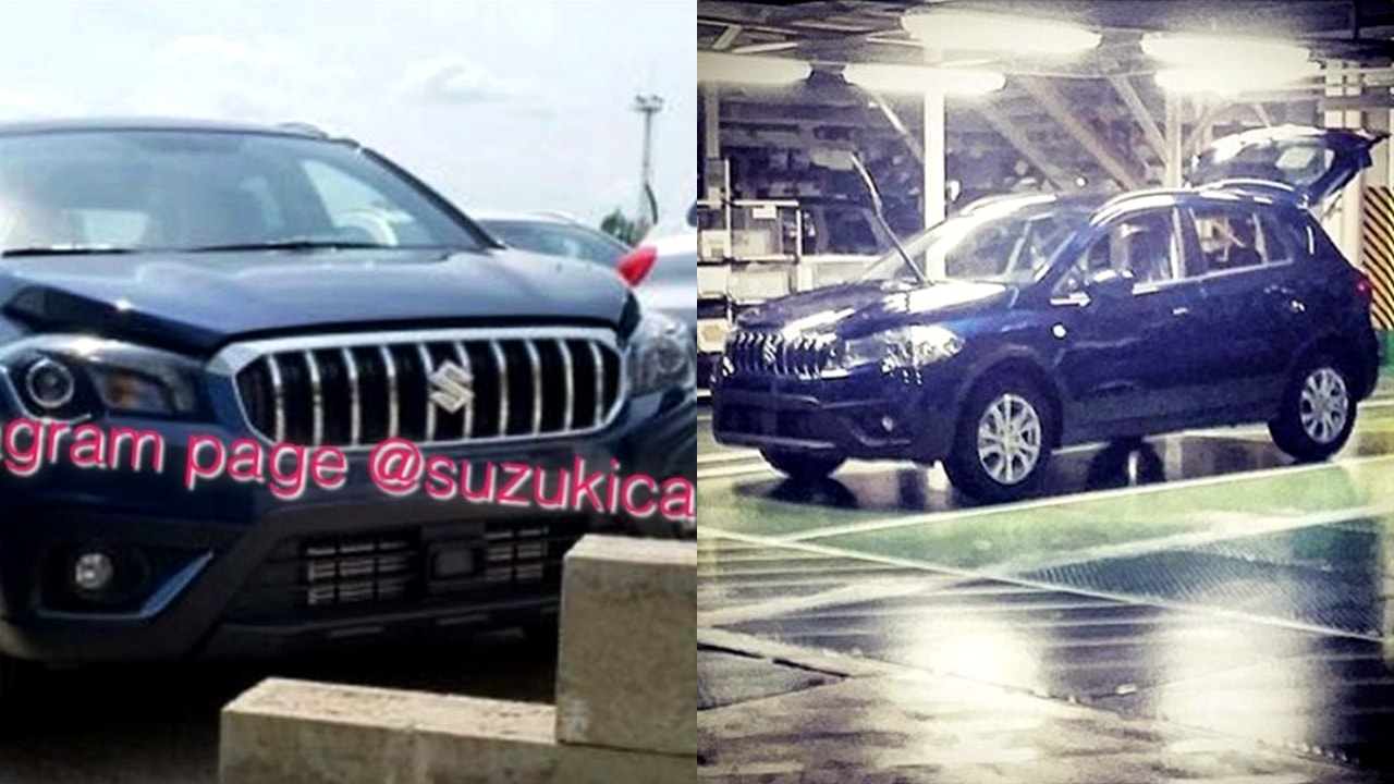 2017 Maruti S Cross India