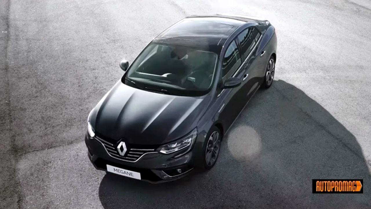 2017 Renault Megane Sedan romania europe