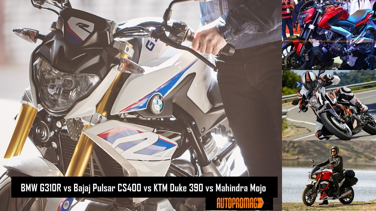 BMW G310R vs Bajaj Dominar 400