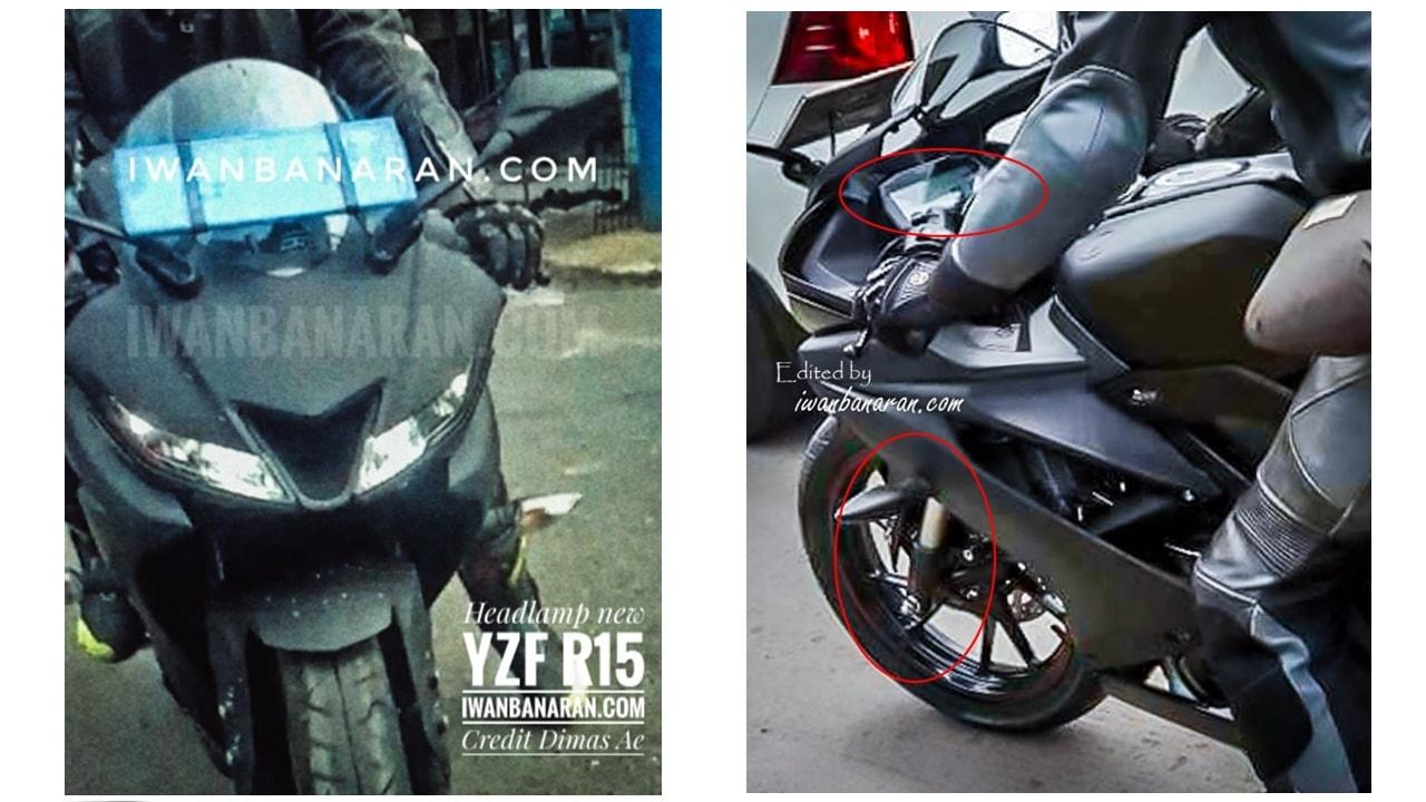 Yamaha YZF-R15 facelift 2017