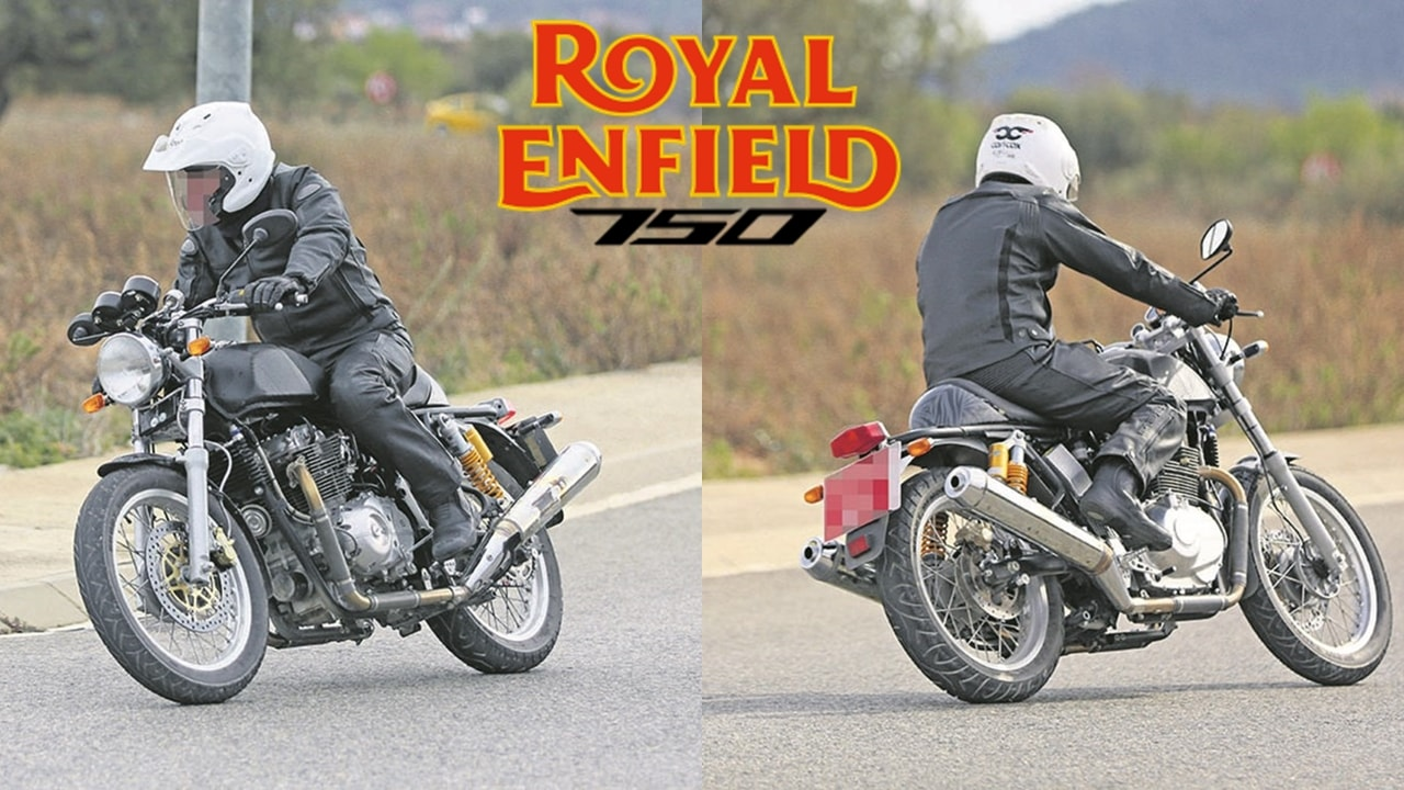 royal enfield 750 continental spied testing price launch date india autopromag. Black Bedroom Furniture Sets. Home Design Ideas