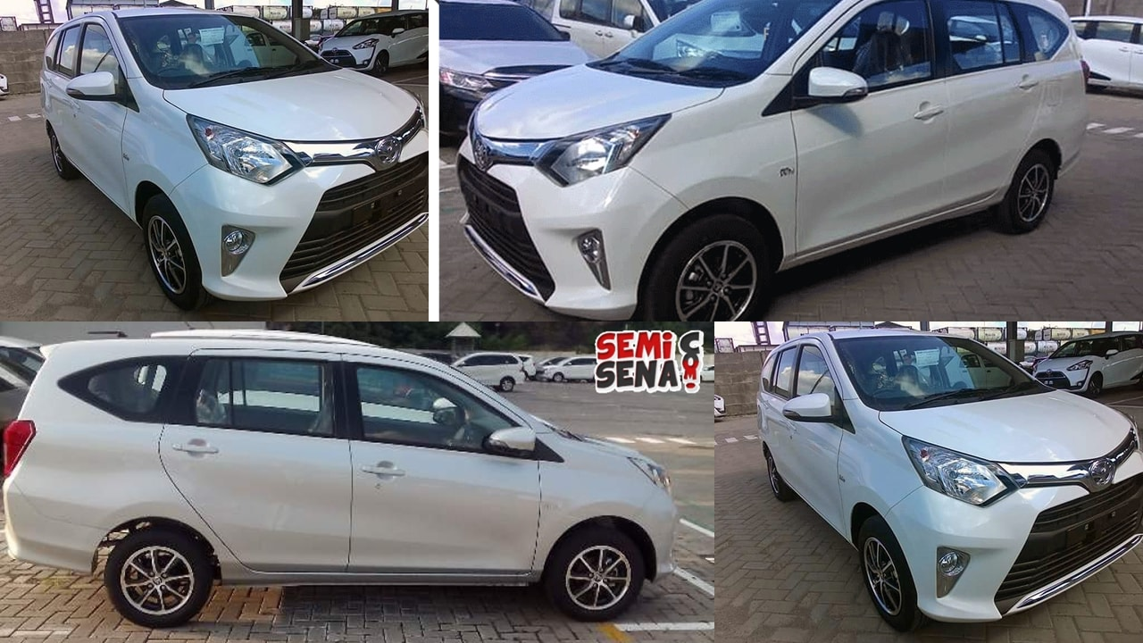 Toyota Calya white indonesia