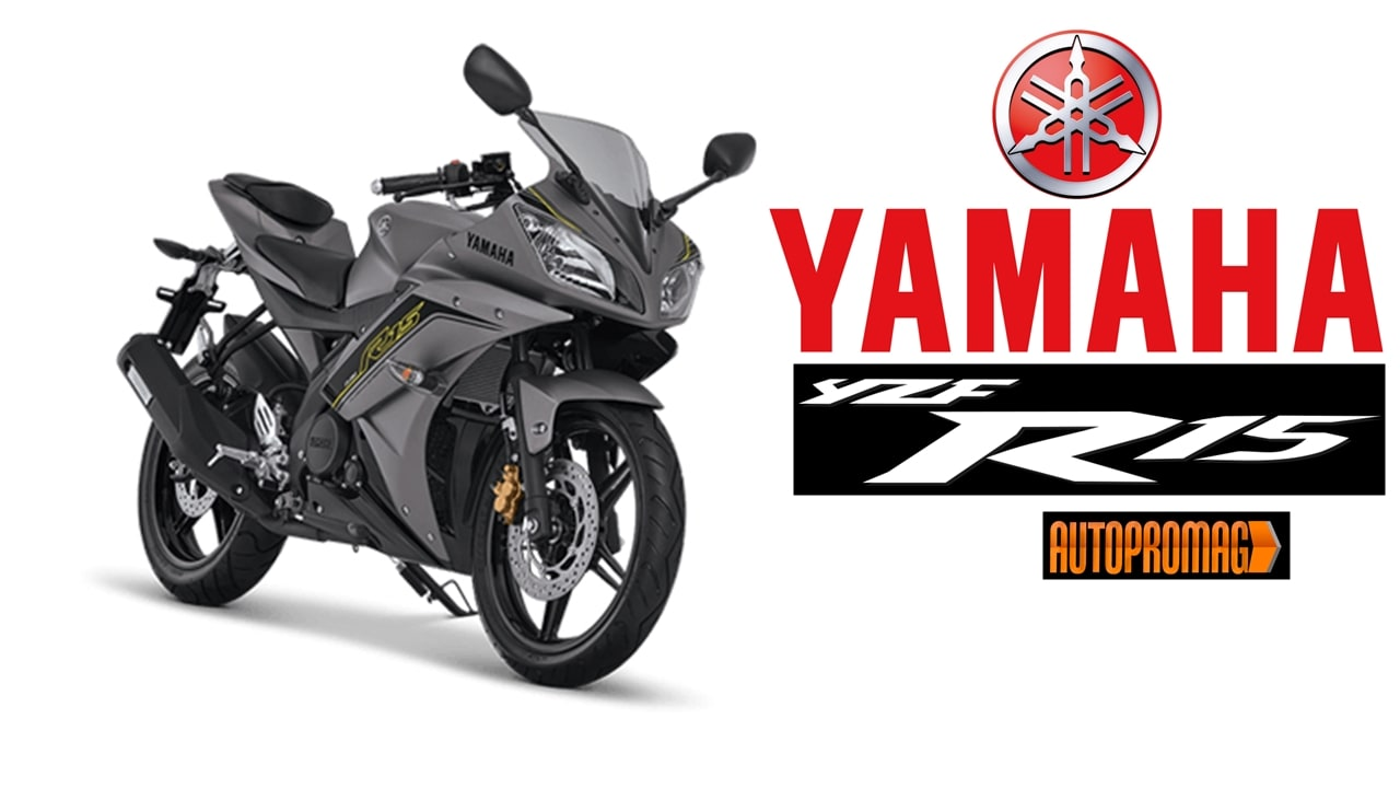 Yamaha R15 V2 modified grey