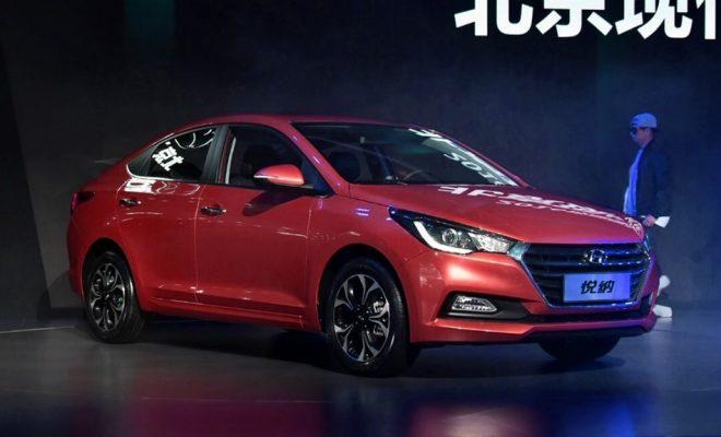 2017 Hyundai Verna red