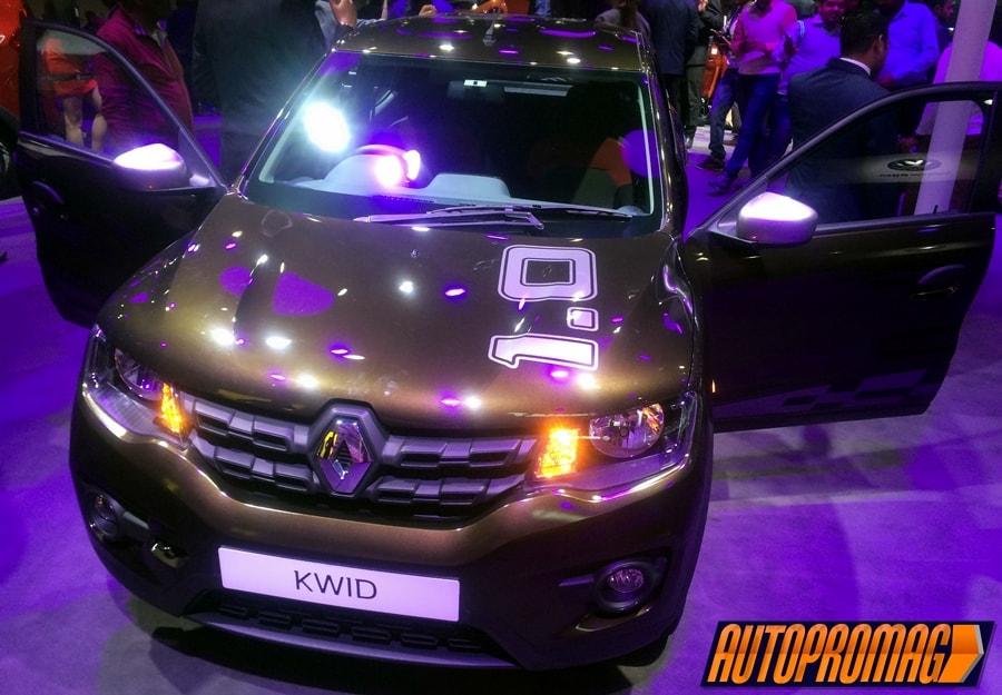 Renault Kwid 1.0 AMT 1000cc India