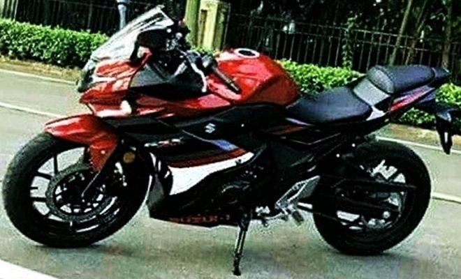 Suzuki GSX250R Gixxer