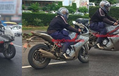Benelli 302R spied in India