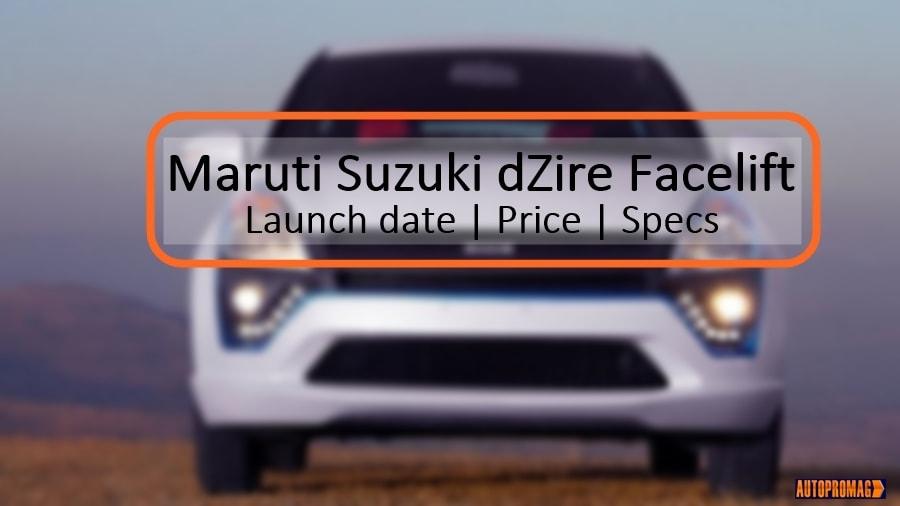 2018 Maruti Suzuki Swift DZire