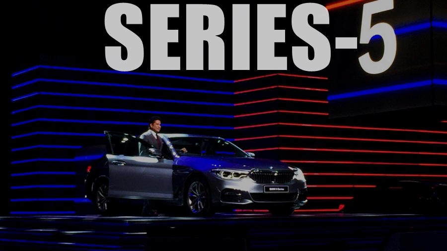 BMW 5-series new India