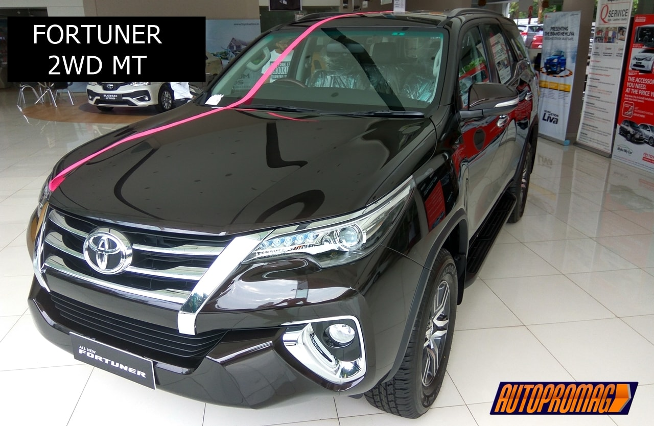 New 2017 Toyota Fortuner 2wd Mt Base Variant Review Interior Amp Exterior Autopromag
