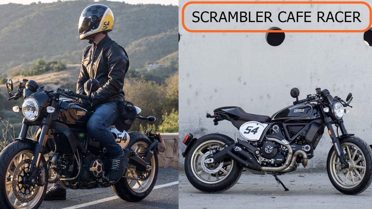 2017 Ducati Scrambler Cafe racer