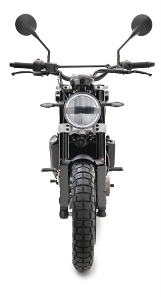 Husqvarna Svartpilen 401 headlight